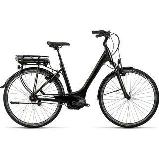 Cube Travel Hybrid RT 500 Easy Entry 2016, black´n´lime - E-Bike
