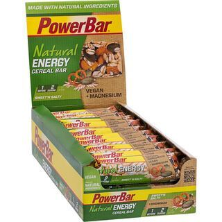 PowerBar Natural Energy Cereal (Vegan) - Sweet'n Salty (Box) - Energieriegel