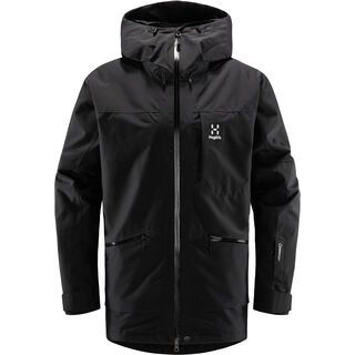 Haglöfs Lumi Insulated Jacket Men, true black - Skijacke
