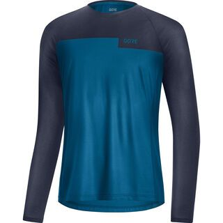 Gore Wear Trail LS Shirt sphere blue/orbit blue