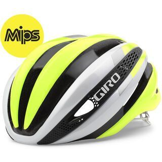 Giro Synthe MIPS, white/yellow - Fahrradhelm