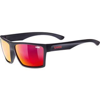 uvex lgl 29, black mat/Lens: mirror red - Sonnenbrille
