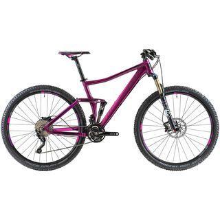 Cube Sting WLS 120 SL 29 2014, purple/pink - Mountainbike