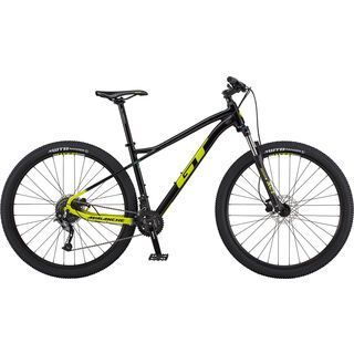GT Avalanche Sport 27.5 2020, black/chartreuse fade - Mountainbike