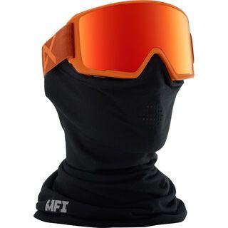 Anon M3 Goggle MFI, orange/Lens: red solex - Skibrille