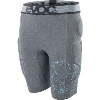 Evoc Crash Pants Kids, carbon grey - Protektorhose