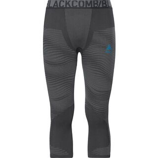 Odlo SUW Bottom Pant 3/4 Performance Blackcomb, black-silver - Unterhose