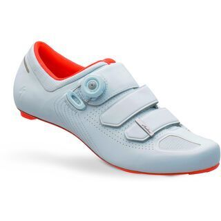 Specialized Audax Road Shoe, Baby Blue/Rocket Red - Radschuhe