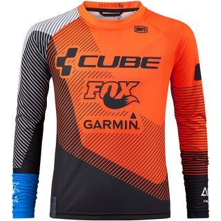 Cube Junior Edge Trikot X Action Team langarm - Radtrikot