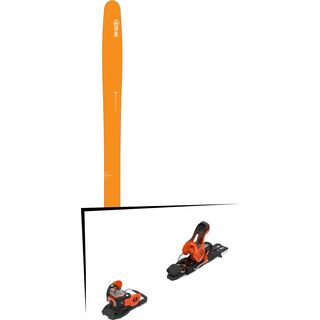 Set: DPS Skis Wailer 99 2016 + Salomon Warden 11 (2212331)