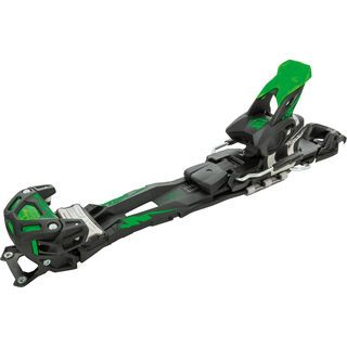 Tyrolia Adrenalin 16 ohne Bremse, solid black flash green - Skibindung