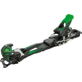 Tyrolia Adrenalin 16 ohne Bremse, solid black flash green - Skibindung