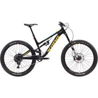 Kona Process 153 DL 2017, black/yellow - Mountainbike