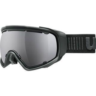 uvex Jakk sphere, pitch black mat/Lens: mirror black - Skibrille