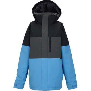 Burton Boys' Symbol Jacket, true black block - Snowboardjacke
