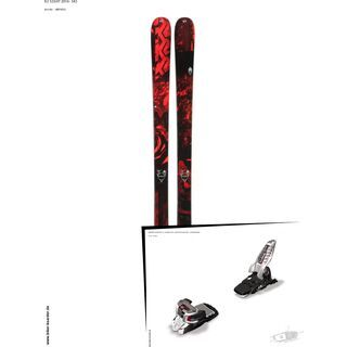K2 SKI Set: Sight 2014 + Marker Griffon 13