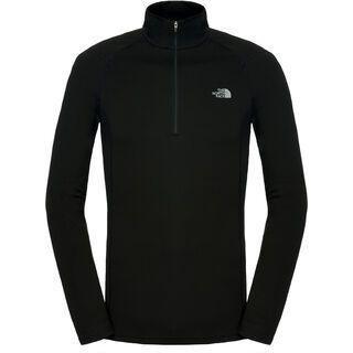 The North Face Mens Warm LS Zip Neck, TNF Black - Funktionsshirt