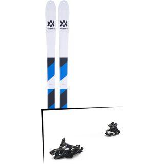 Set: Völkl VTA 80 2019 + Marker Alpinist 12 black/titanium