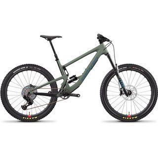 Santa Cruz Bronson CC XX1 Reserve 2020, olive/blue - Mountainbike