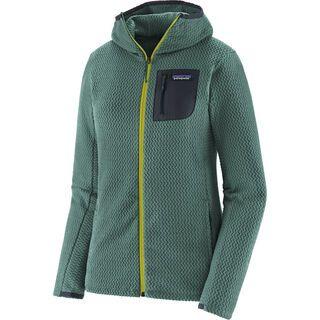 Patagonia Women's R1 Air Full-Zip Hoody, regen green - Fleecehoody