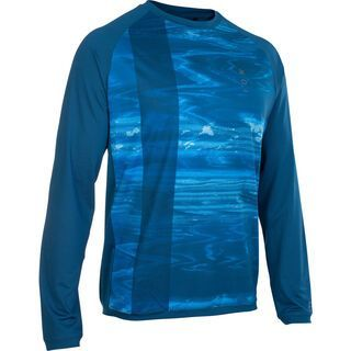 ION Tee LS Traze AMP, ocean blue - Radtrikot