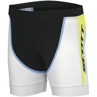 Scott Shorts Womens Tri, blue/lime green - Radhose