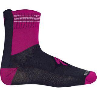 Specialized Women's Sock, Grey/Fuchsia - Radsocken