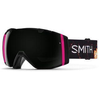 Smith I/O inkl. Wechselscheibe, unicorn/Lens: blackout - Skibrille