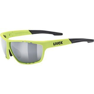 uvex sportstyle 706, neon yellow/Lens: litemirror silver - Sportbrille