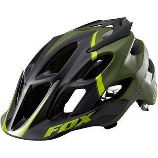 Fox Flux Helmet, fatigue green - Fahrradhelm