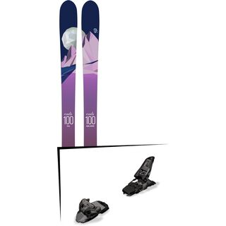Set: Icelantic Oracle 100 2018 + Marker Squire 11 black anthracite