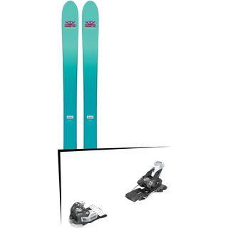 Set: DPS Skis Nina F99 Foundation 2018 + Tyrolia Attack 13 solid black white