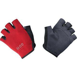 Gore Wear C3 Kurzfingerhandschuhe, black/red