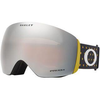 Oakley Flight Deck Prizm, blockography burnished/Lens: black iridium - Skibrille