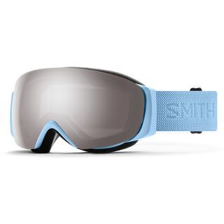 Smith I/O Mag S inkl. WS, smokey blue flood/Lens: cp sun platinum mir - Skibrille
