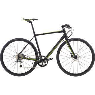 Kona Esatto Fast 2016, black/green - Fitnessbike