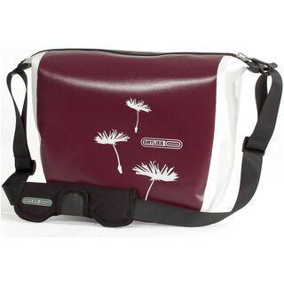 Ortlieb Zip-City, aubergine-weiß - Messenger Bag