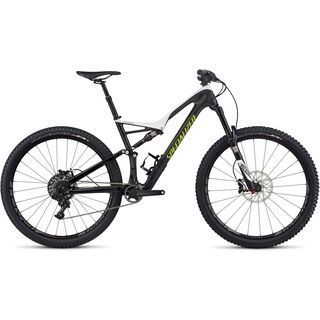 Specialized Stumpjumper FSR Expert Carbon 29 2017, white/carbon/hy green - Mountainbike
