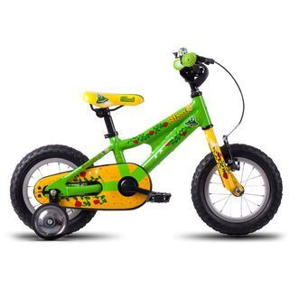 Ghost Powerkid 12 2016, green/yellow/red - Kinderfahrrad