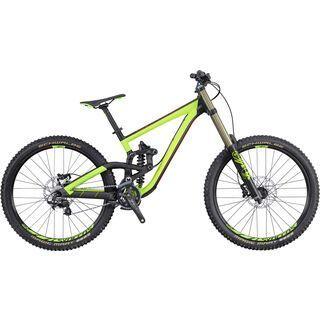 Scott Gambler 720 2016, black/green/red - Mountainbike