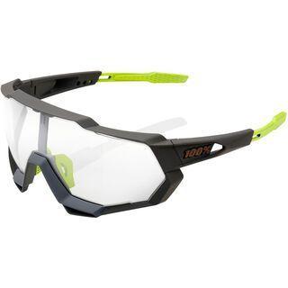 100% Speedtrap - Photochromic Clear/Smoke soft tact cool grey