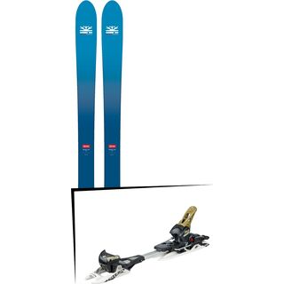 Set: DPS Skis Wailer F106 Foundation 2018 + Fritschi Diamir Freeride Pro schwarz-olive