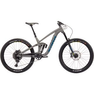 Kona Process 165 2019, gray w/ blue - Mountainbike