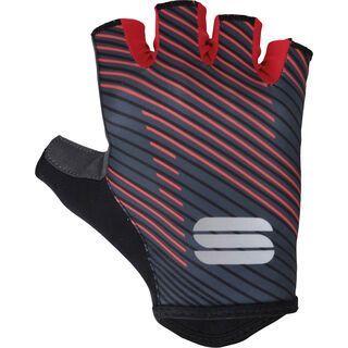 Sportful BodyFit Team Faster Gloves, black/grey/red - Fahrradhandschuhe