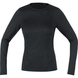 Gore Bike Wear Base Layer Lady Shirt Lang, black - Funktionsshirt