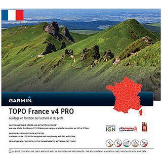 Garmin Topo Frankreich V4 PRO Gesamt (microSD/SD) - Karte