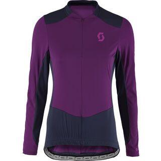 Scott Endurance 20 L/SL Women's Shirt, deep purple/dark blue - Radtrikot
