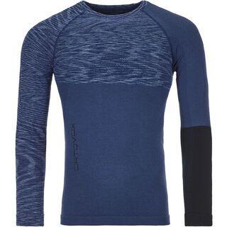 Ortovox 230 Merino Competition Long Sleeve M, night blue blend - Unterhemd