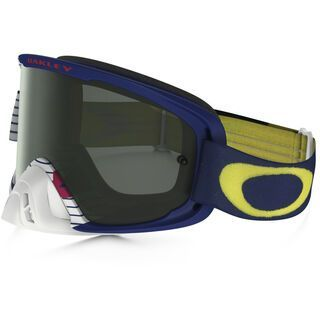 Oakley O2 MX, lancers/Lens: dark grey - MX Brille