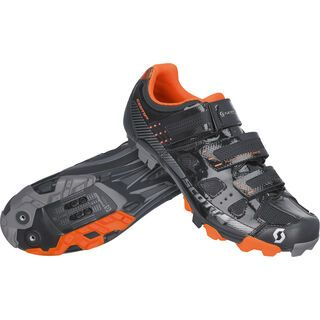 Scott MTB Comp, black gloss/orange - Radschuhe